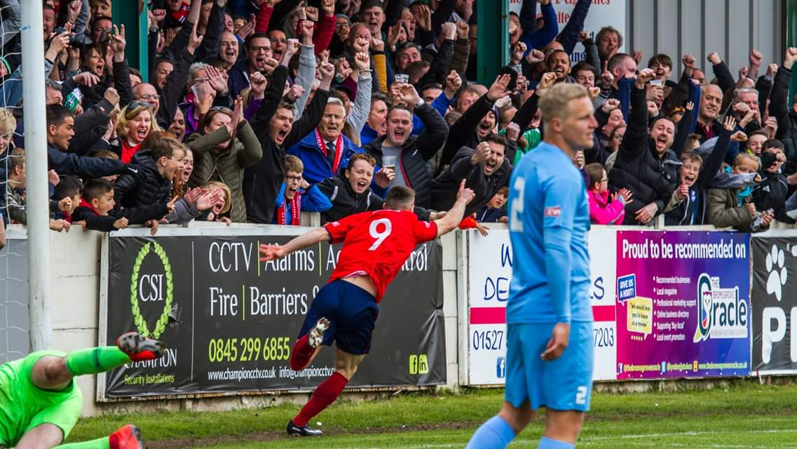 JASON COWLEY: Spending another month at Kidderminster
