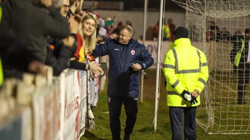 ANDY MASON: Assistant manager departs
