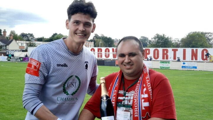 SPONSORS DAY: A look back at Sporting fan Jon's big day