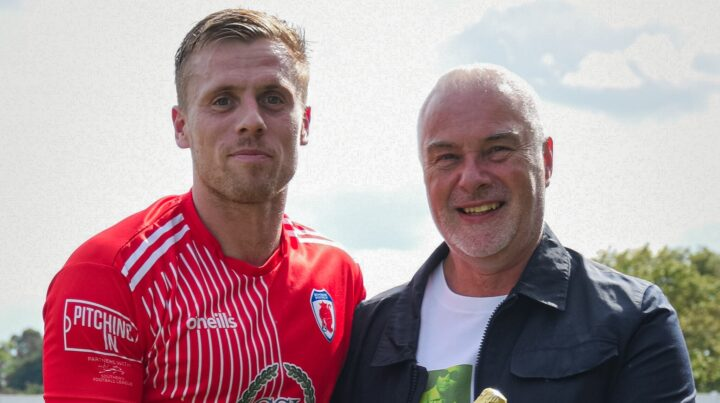 AUGUST PLAYER OF THE MONTH: Nathan Hayward Receives His Award
